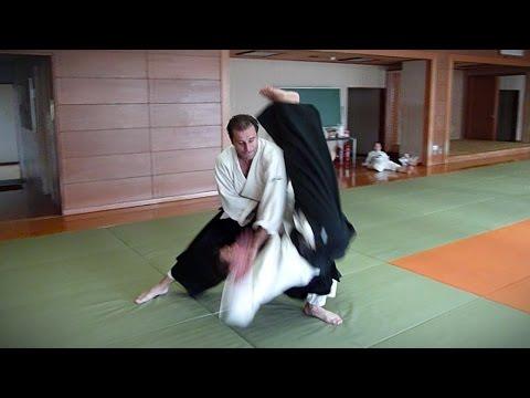 Aikido - Guillaume Erard in Tokyo (July 2013)