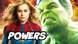 Captain Marvel is Most Powerful Avenger in Avengers 4 Explained