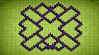 Clash Of Clans Town Hall 7 Farming Base (The Fallacy
