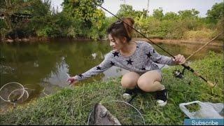 Hot girl xinh đẹp câu cá khủng - Beautiful Girls fishing