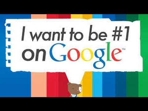 Google SEO - How to Increase Google Page Rankings