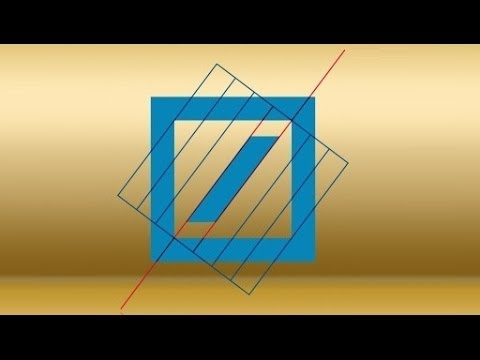 Celebrating 40 years of the Deutsche Bank logo