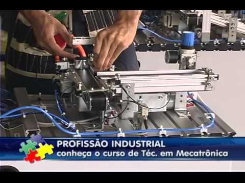 CONHEÇA O CURSO DE TÉCNICO EM MECATRÔNICA - SENAI