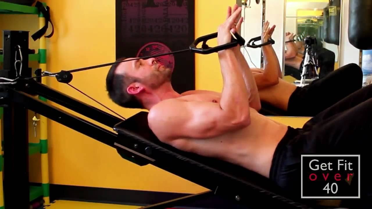 Total gym upper body workout overview part 2 shoulders and arms
