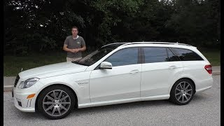 I Bought a Mercedes E63 AMG Wagon and Drove It 1,200 Miles Home