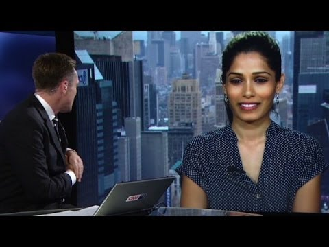 Freida Pinto pushes for girls' education