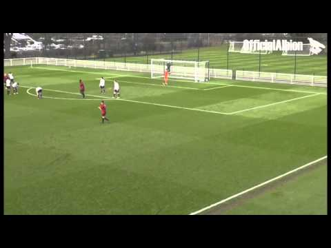 West Bromwich Albion's Samir Nabi scores a cracker for the U18s