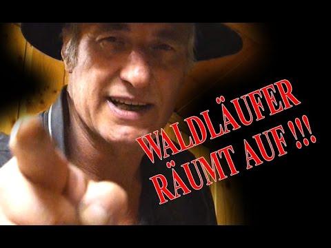 WALDLÄUFER RÄUMT AUF !!! | Meine komplette Outdoor Ausrüstung