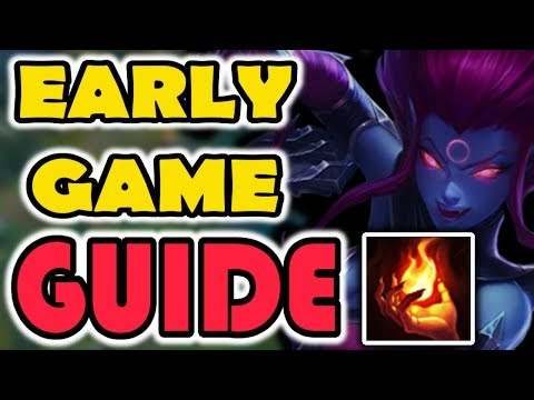 HOW TO PLAY EVELYNN EARLY GAME - EVELYNN JUNGLE GUIDE - LEAGUE OF LEGENDS [Season 7]