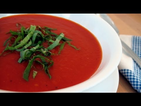 Raw Food Diet Recipes - Tomato and Red Pepper Soup
