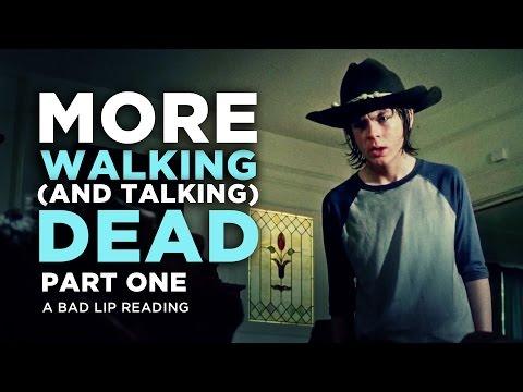 ''MORE WALKING (AND TALKING) DEAD: PART 1'' - A Bad Lip Reading of The Walking Dead Season 4