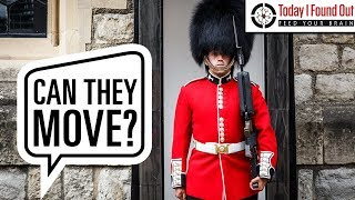 Can the Queen's Guard Really Not React to People While on Duty?