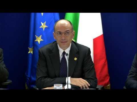 Consiglio UE del 19-20 dicembre - Conferenza Stampa di Enrico Letta (20/12/2013), prima parte