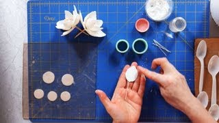 How To Make Magnolia Petals Sugar Flowers
