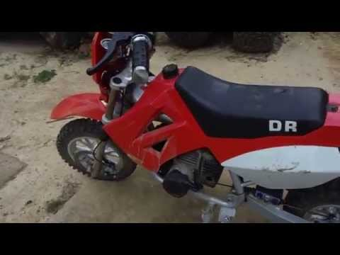 Baja DR Motorcycle from China 2-Stroke Electric Start 50cc