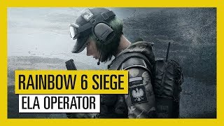 Rainbow Six Siege - Blood Orchid: Ela Operator