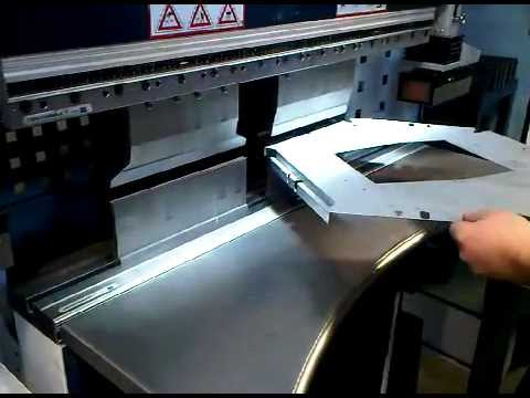 Sheet metal work, bending sheet metal components and CNC bending using press brakes