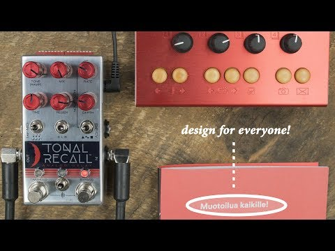Chase Bliss Audio Tonal Recall Analog Delay Red Knob Mod
