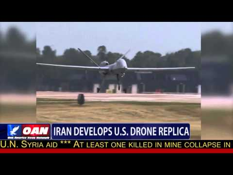 Iran Develops U.S. Drone Replica