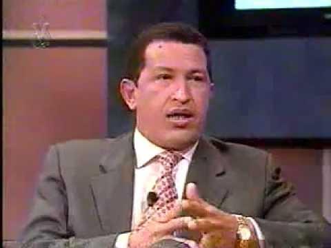 Chávez entrevistado por Napoleón Bravo 07-Dic-1998 Parte 1