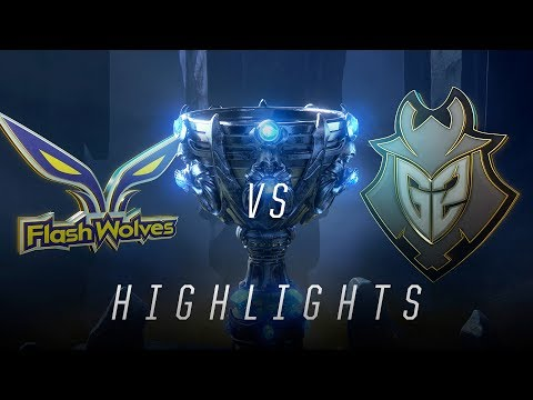 FW vs. G2 - Worlds Group Stage Day 6 Match Highlights (2018)