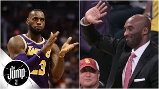 Why Lakers fans chanting 'Kobe' with LeBron James playing is 'a great look' | The Jump