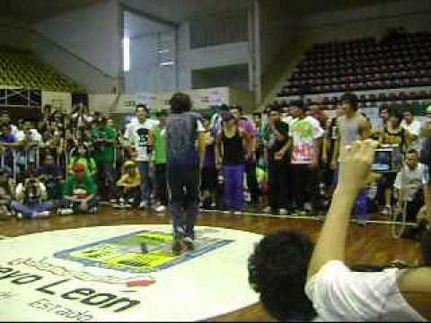Bboy City Mexico 2011 Elemental crew vs Gravedad zero