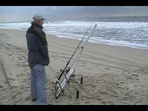 Surf cannon youtube for Surf fishing nj license
