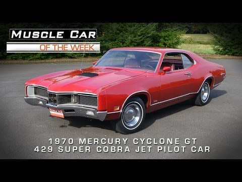 Muscle Car Of The Week Video #34: 1970 Mercury Cyclone GT 429 Super Co