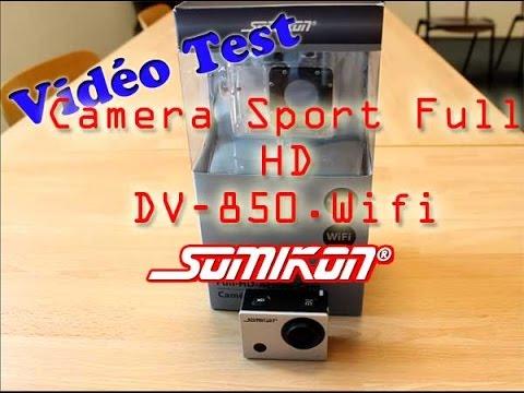 Vidéo Test : Caméra Sport Full HD Somikon DV-850.WiFi