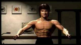 Bruce Lee Animation Clip Tribute To The Master