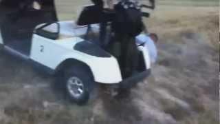 Carros de golf locos