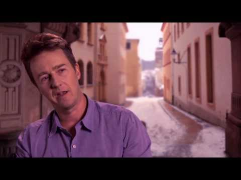 The Grand Budapest Hotel: Edward Norton