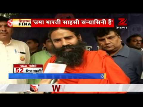 Ramdev targets Sonia, urges BJP to field Uma Bharti from Rae Bareli