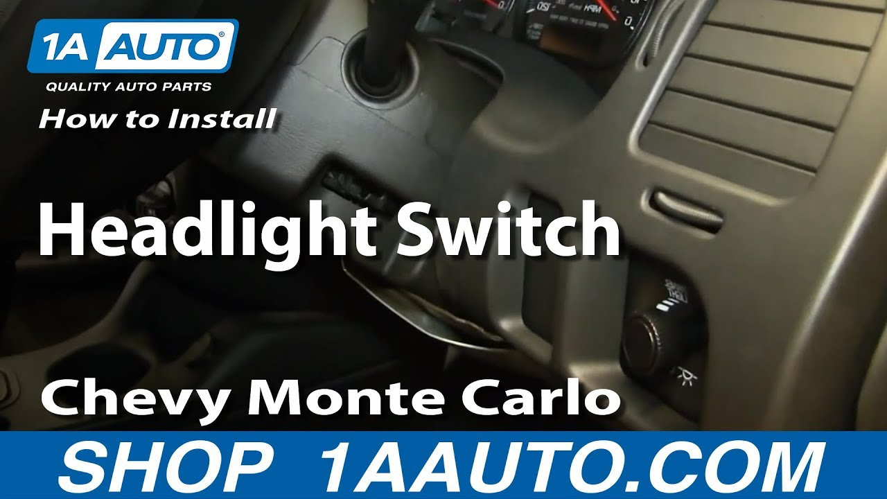 2005 Silverado Fog Light Wiring Harness Wire Data Schema Chevy How To Install Replace Headlight Switch 2000 05 Gm