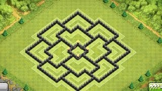 Clash Of Clans Townhall 8 Farming Base Circle Of Death