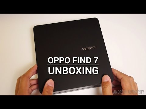 Oppo Find 7/7a Unboxing and First Impressions