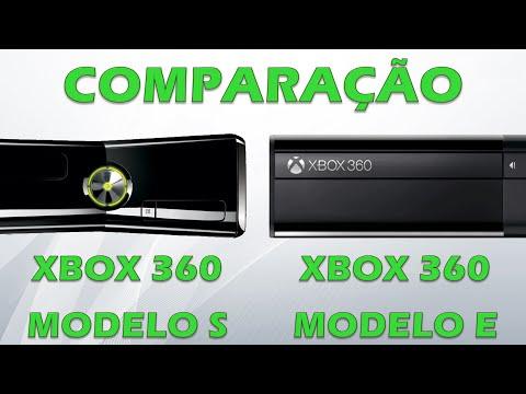 Xbox 360 - Comparação entre o modelo S (Slim) e modelo E (Super slim) - Vantagens e desvantagens!
