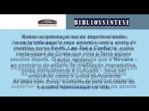 Bibliossíntese - A CAMINHO DA LUZ (Emmanuel) Chico Xavier