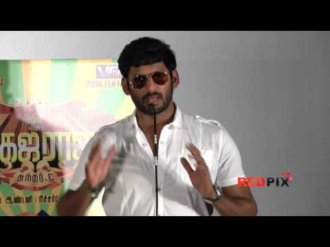 Madha Gaja Raja- a decade after his entry in cinema. Vishal is become a producer- RED PIX.