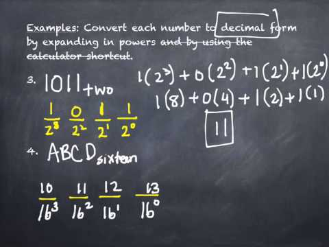 4.4 Conversion Between Number Bases B (part 1)