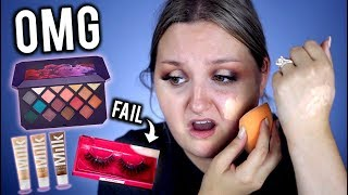 OMG.. FULL FACE FIRST IMPRESSIONS FENTY BEAUTY + MILK MAKEUP