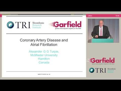 GARFIELD Symposium ESC13 - Coronary artery disease and AF (Turpie)