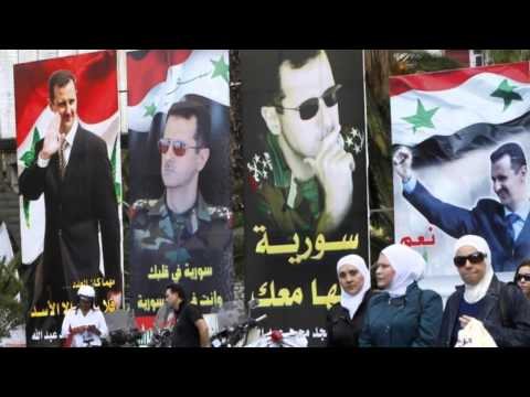 Syrian President Bashar Al-Assad Wins Third Term