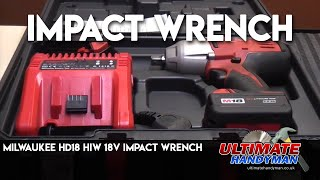 Milwaukee 18v Impact wrench Review