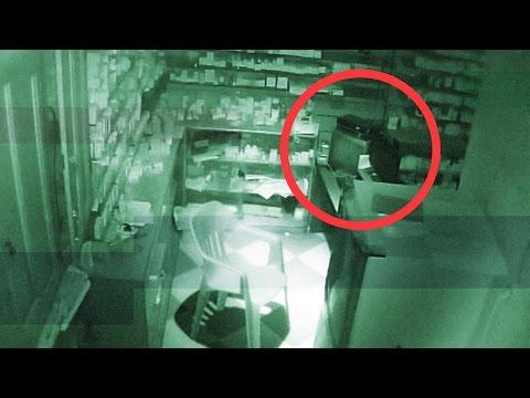 كاميرات مراقبة داخل صيدلية مصرية ترصد شبحا و لقطات غريبة