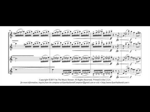 Ryan Nathaniel -- Flourish for Saxophone Quartet (2011)