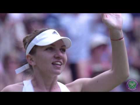 Semi-final showdown: Eugenie Bouchard v Simona Halep - Wimbledon 2014