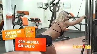 Treino de Costas com Andréa Carvalho