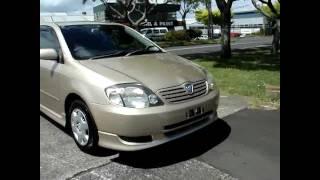 2001 Toyota Allex X5150